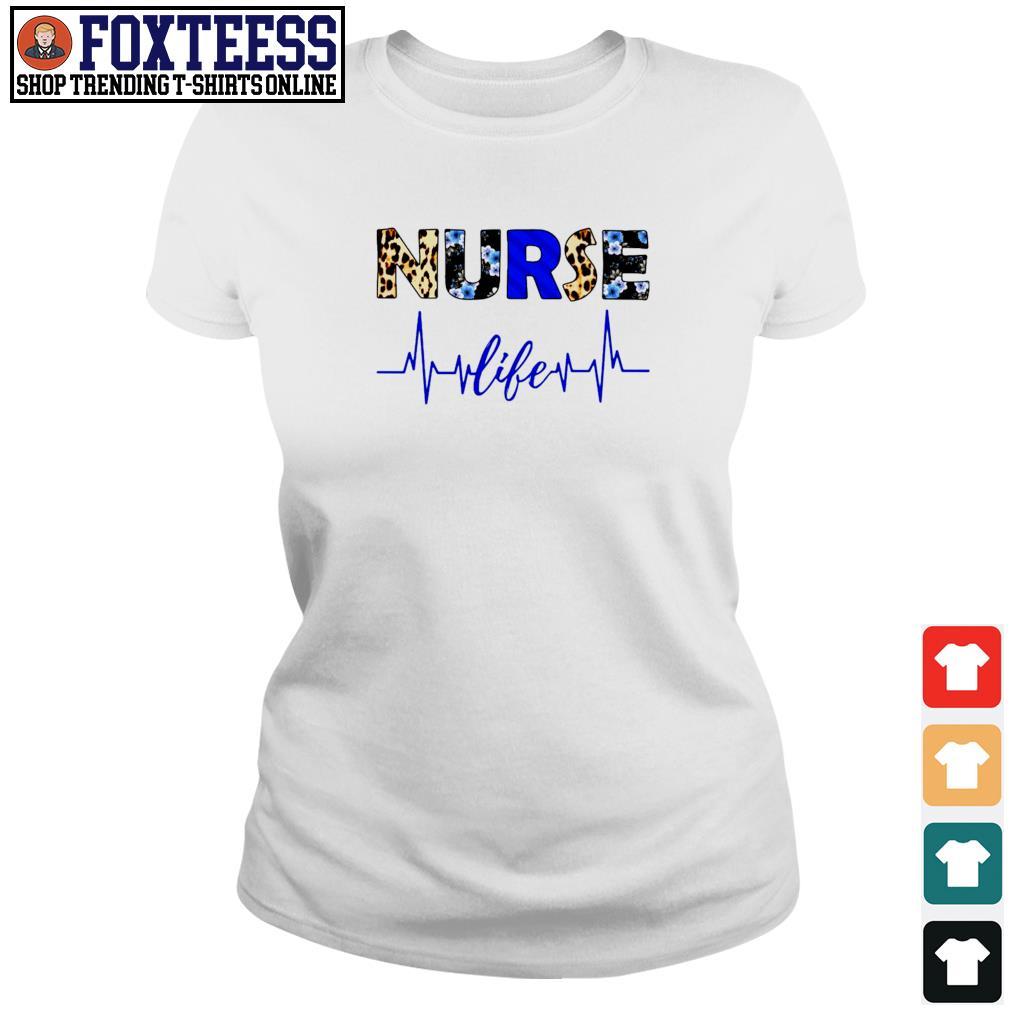 Nurse life heartbeat s ladies-tee