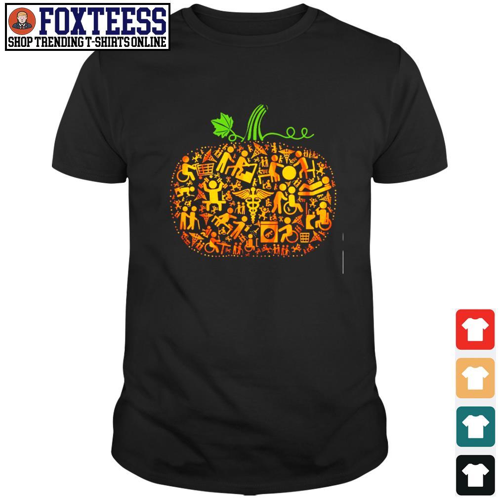Occupational therapy pumpkin halloween shirt