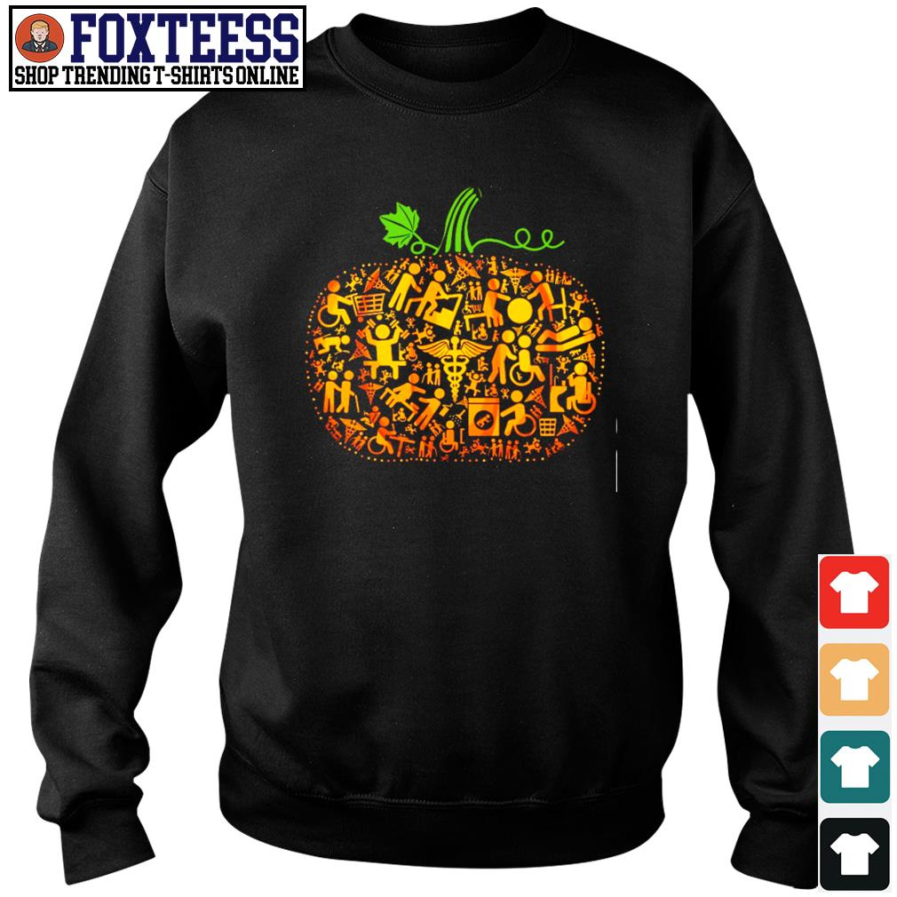 Occupational therapy pumpkin halloween s sweater
