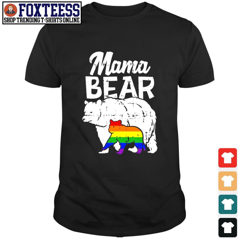 Official Mama bear LGBT shirt