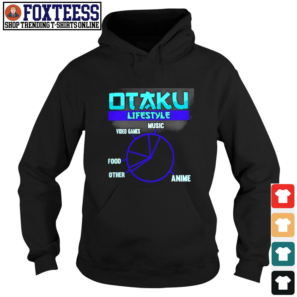 Otaku lifestyle music video game food other anime s hoodie