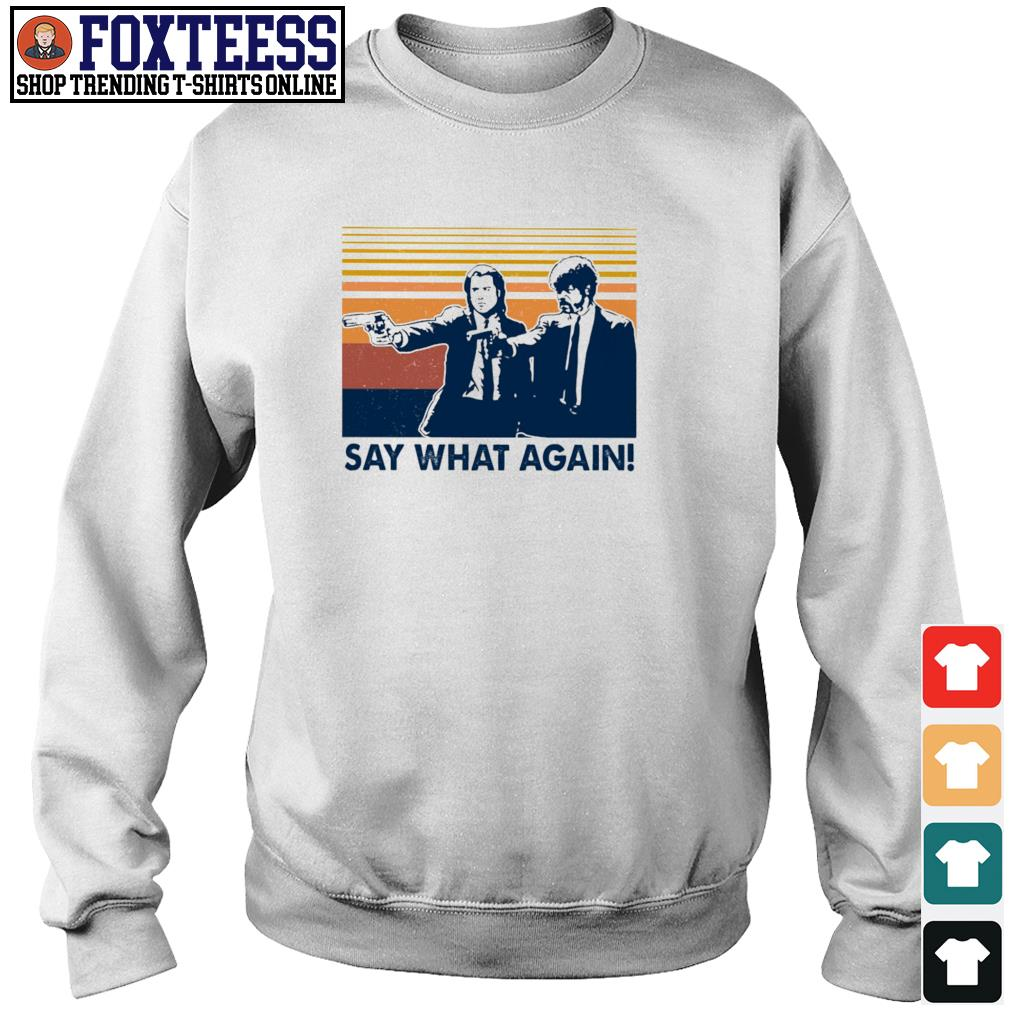 Pulp fiction say what again vintage s sweater