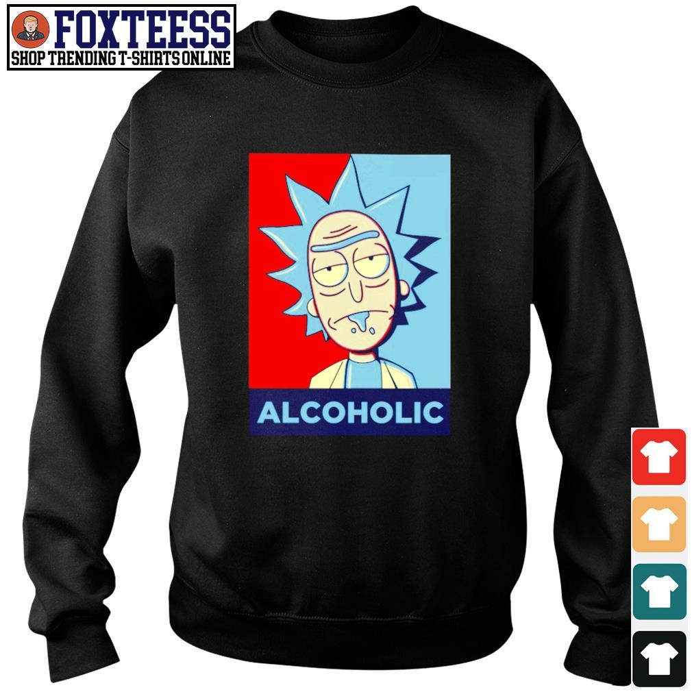 Rick sanchez alcoholic s sweater