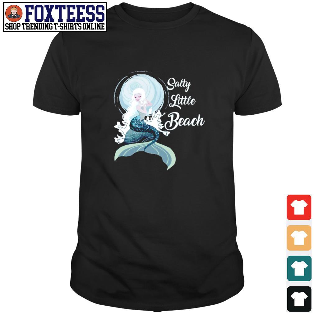 Salty little beach mermaid shirt