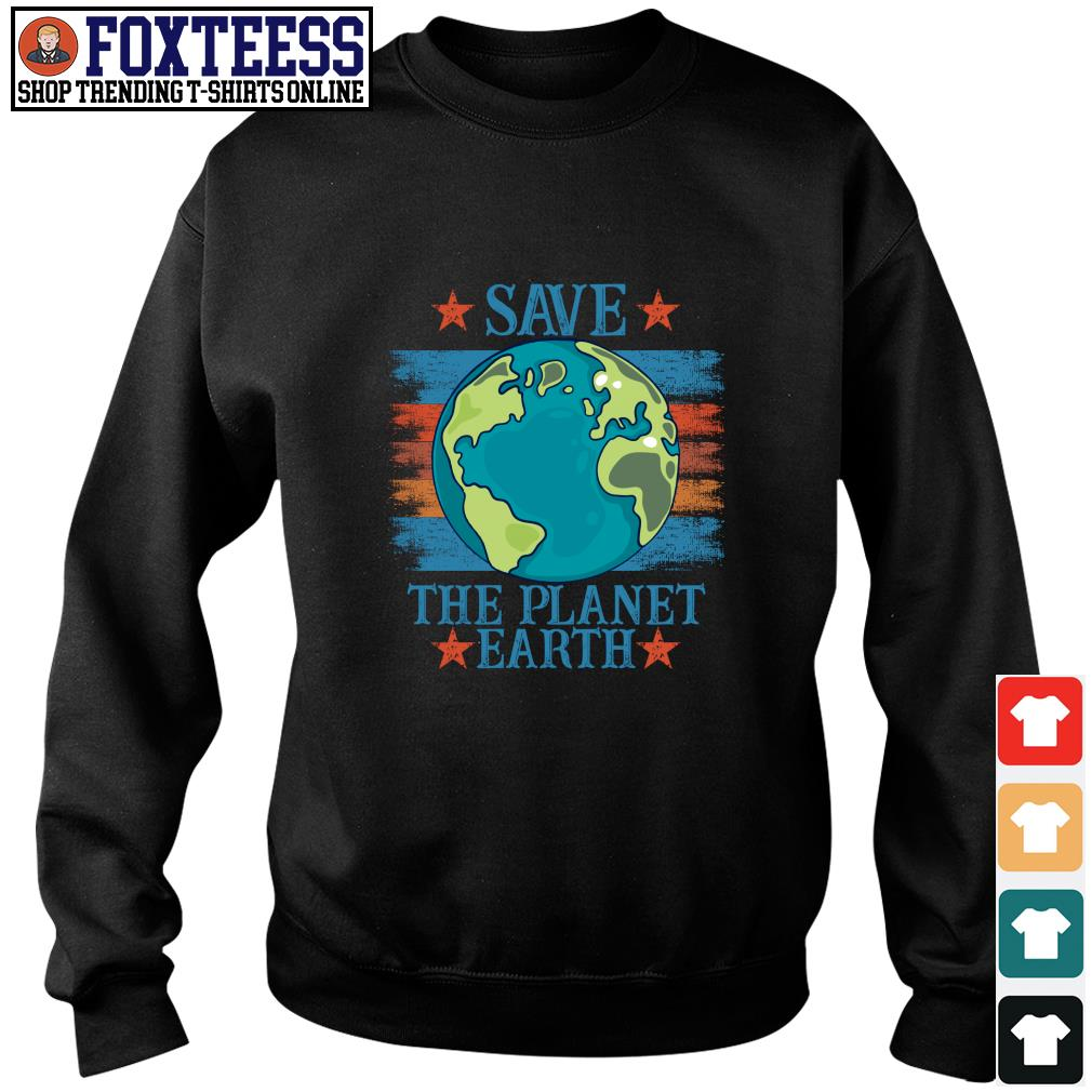 Save the planet earth s sweater