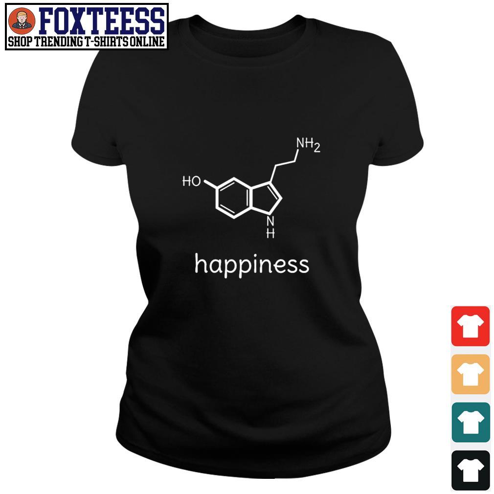 Serotonin happiness s ladies-tee