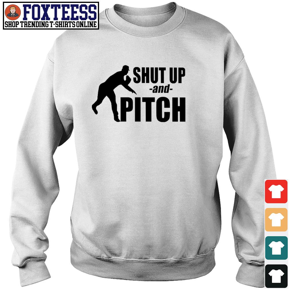 Shut up and pitch s sweater