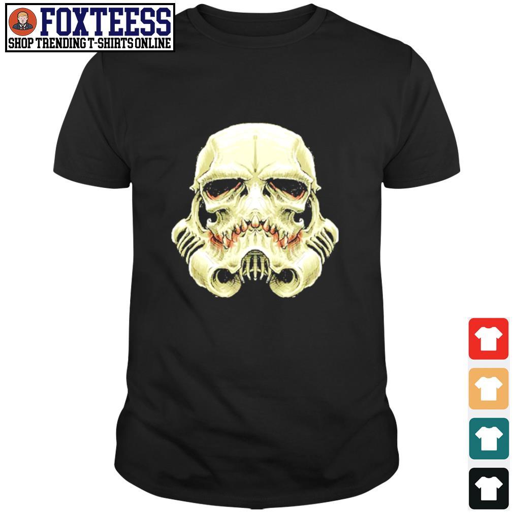 Skull stormtrooper star wars shirt