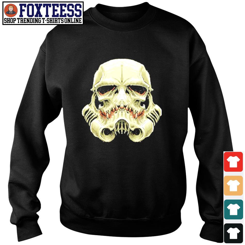 Skull stormtrooper star wars s sweater