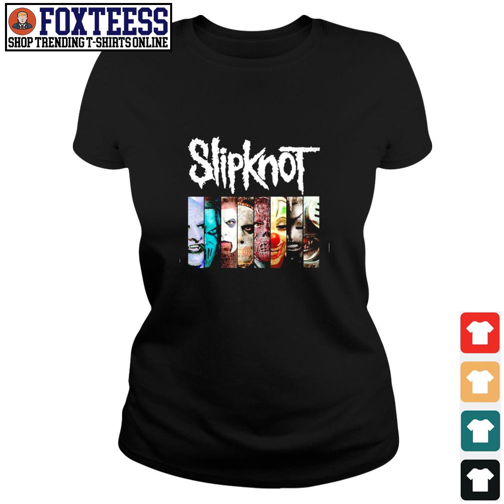 Slipknot band s ladies-tee