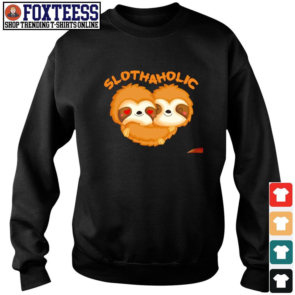 Sloth aholic love s sweater