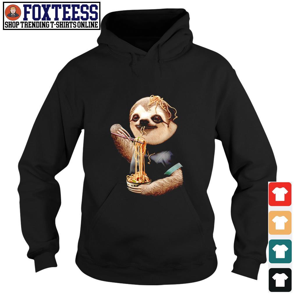 Sloth eating ramen s hoodie