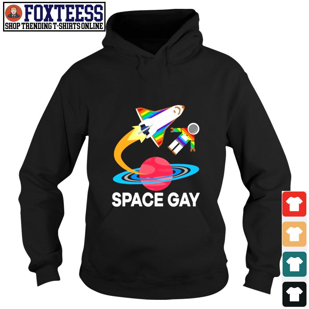 Space gay LGBT s hoodie
