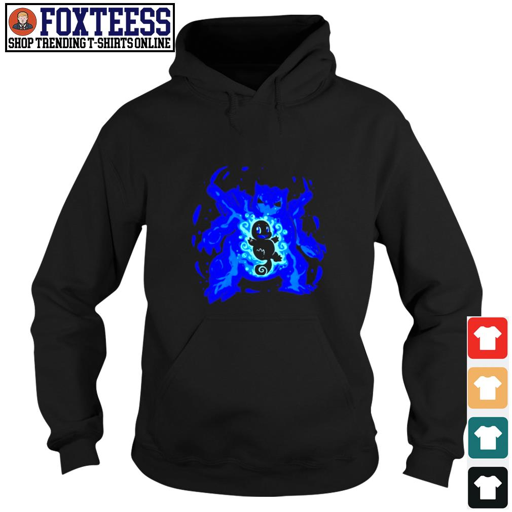 Squirtle water type evolution Blastoise s hoodie