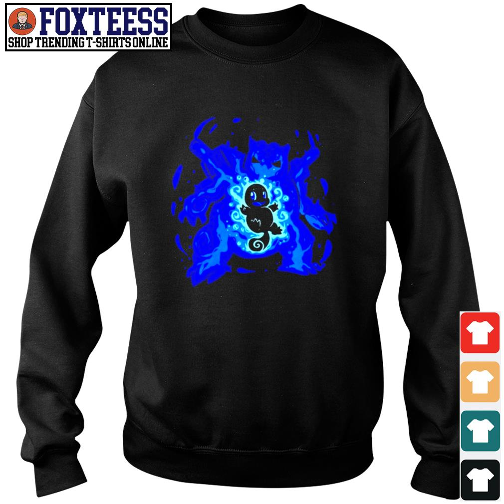 Squirtle water type evolution Blastoise s sweater