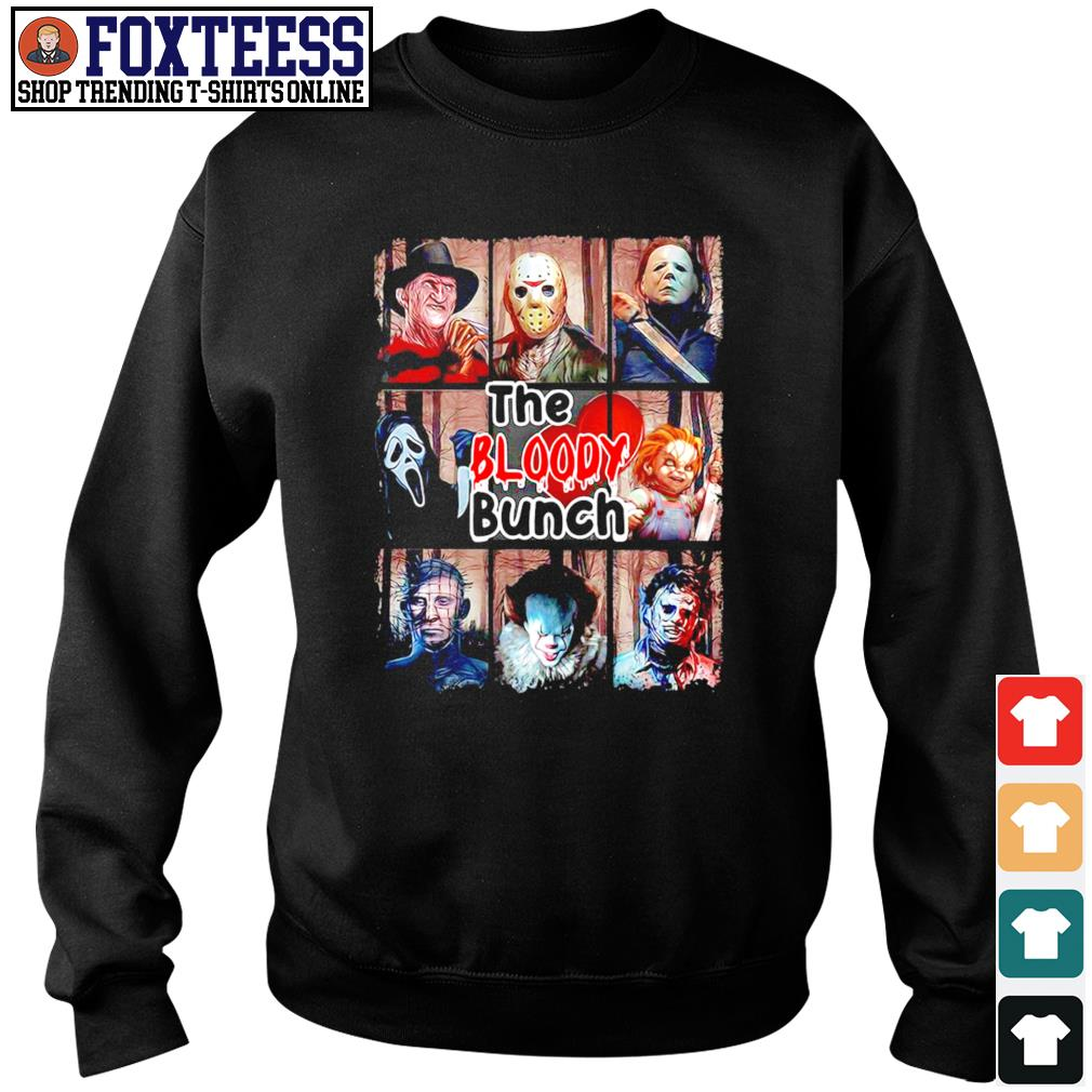 The bloody bunch horror s sweater