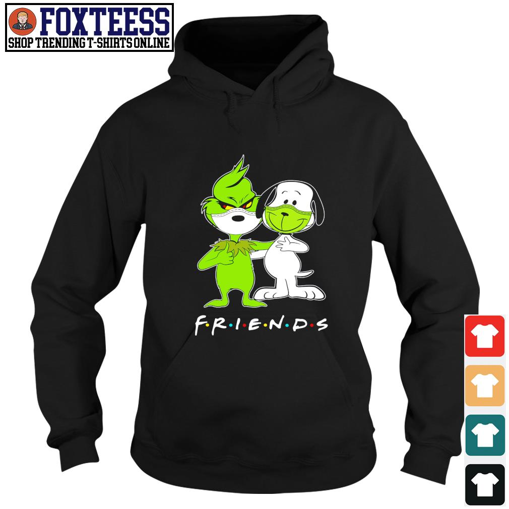 The grinch snoopy mask friends s hoodie