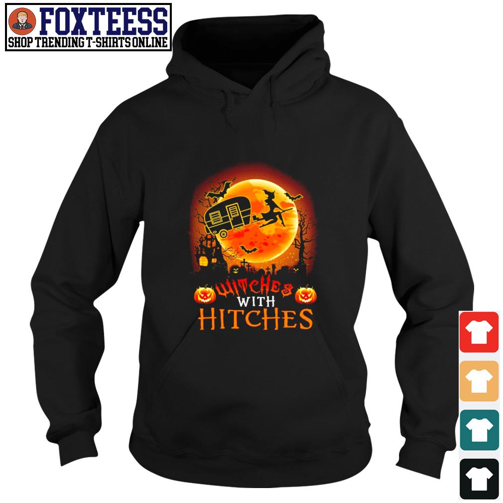 Witches with hitches camping halloween s hoodie