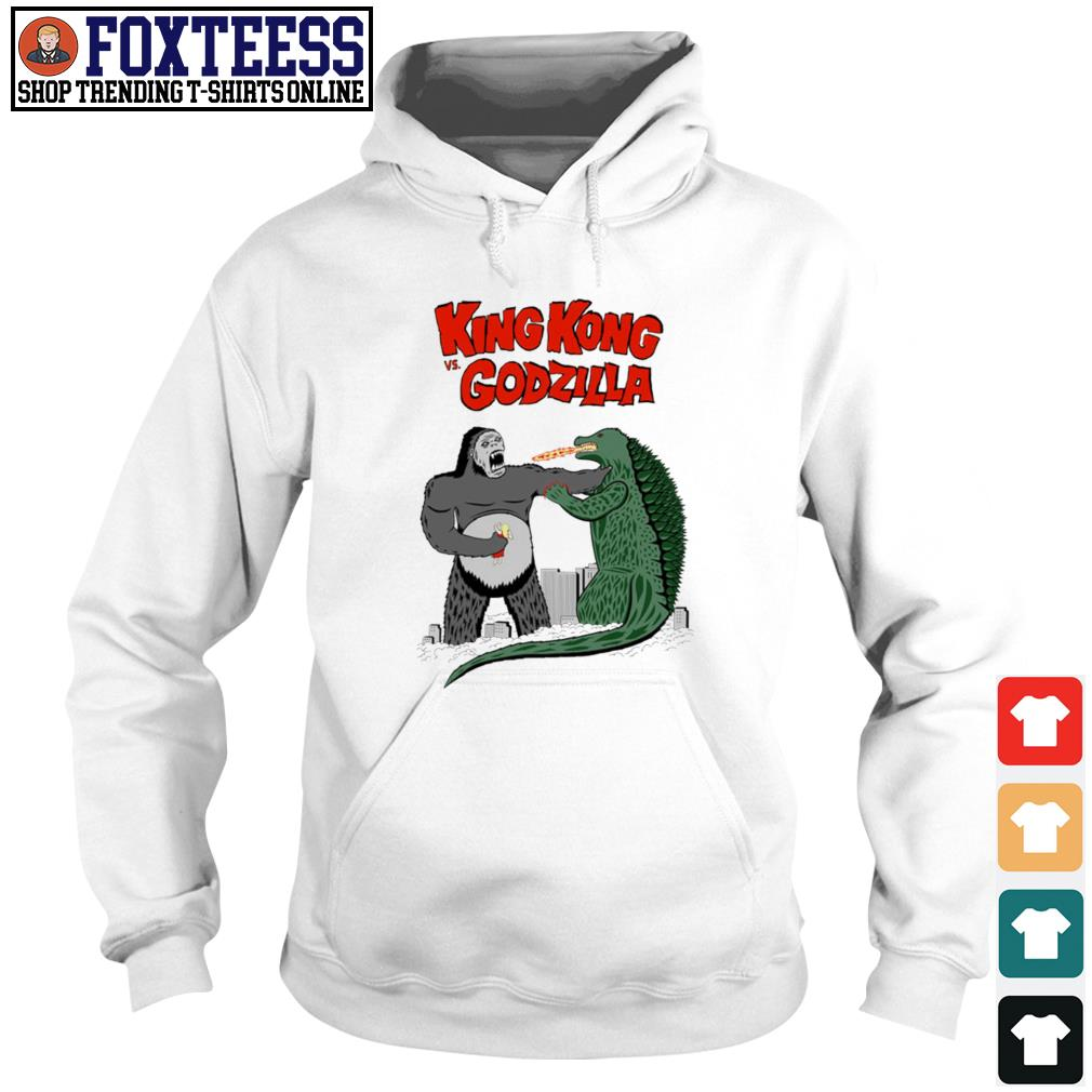 King Kong vs Godzilla cartoon s Hoodie