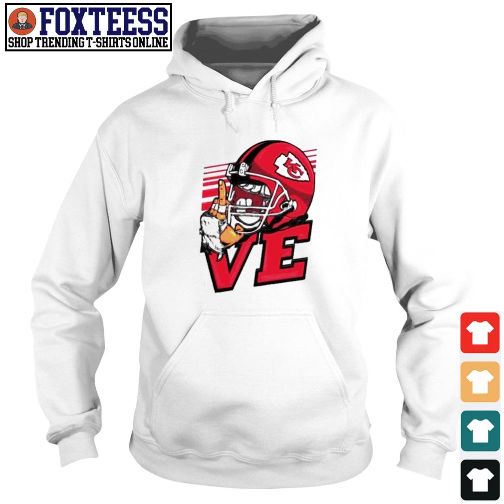 Love Kansas City Chiefs 2021 s Hoodie