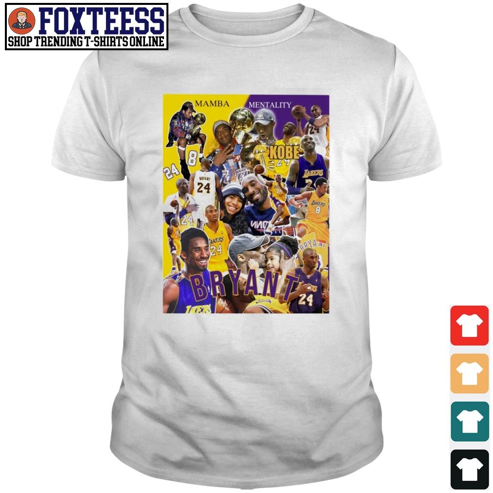 Matthew W. Thomas Raptors Kobe Bryant legends shirt