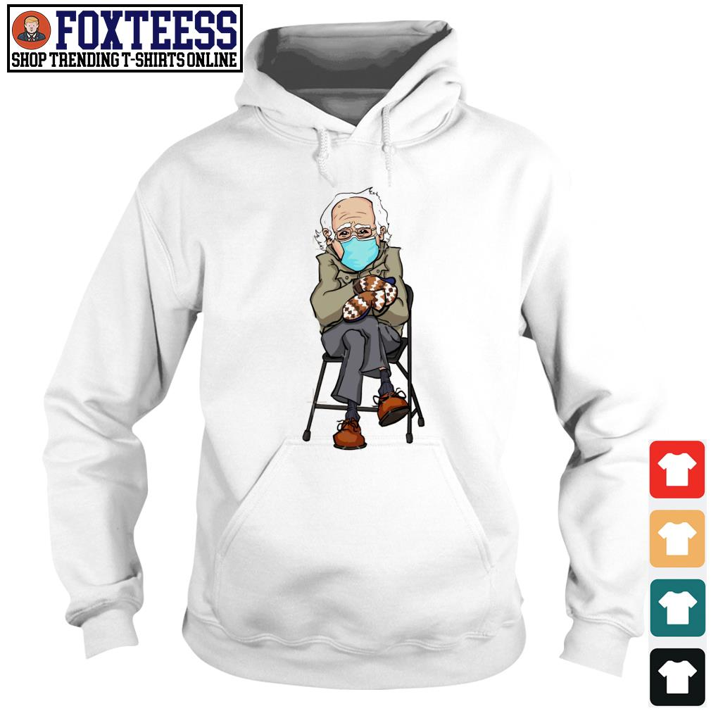 Men's Bernie Sanders wearing face mask s Hoodie