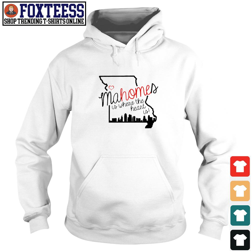 Patrick Mahomes is where the heart is s Hoodie