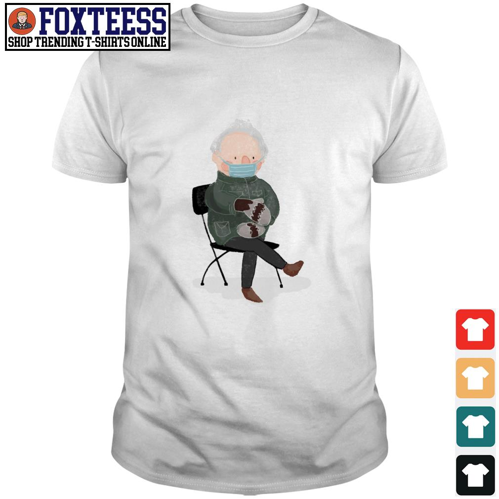Pretty Bernie Sanders mittens face mask shirt